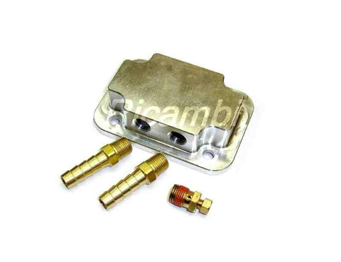 Intake Heater Cover - Fuel Injection-1966-85 Classic Spider-[Auto Ricambi]-[FIAT 124 Spider]-[FIAT_Spider_Parts]