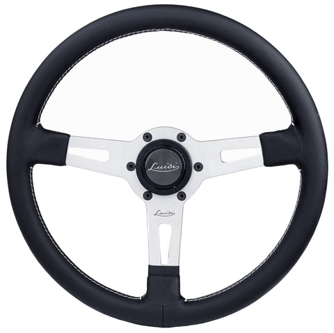 Sport Steering Wheel with Silver Spokes-1966-85 Classic Spider-[Auto Ricambi]-[FIAT 124 Spider]-[FIAT_Spider_Parts]