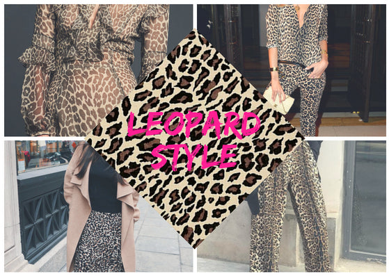 Style with Leopard Print