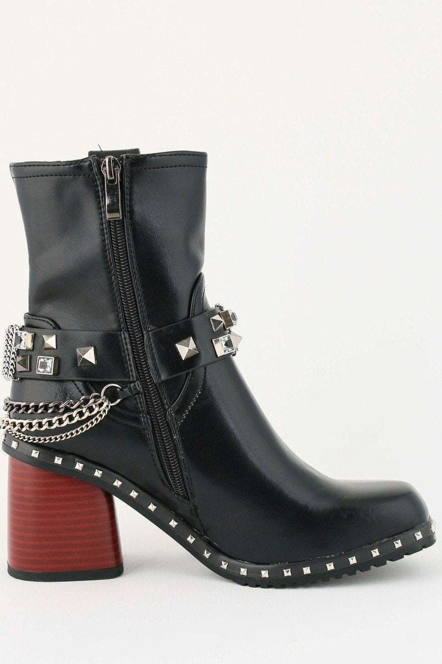 Rock with Me Ankle Boots, shoes, BELLO CLOCK, LittleCuteCorner. - Belgian Woman Online Clothing Store