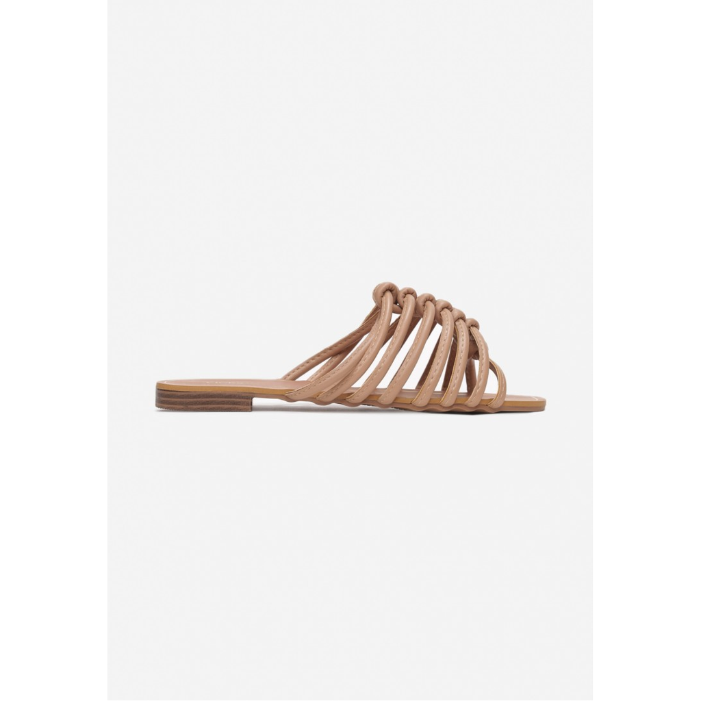 Beige Summer Slippers, shoes, vices, LittleCuteCorner. - Belgian Woman Online Clothing Store