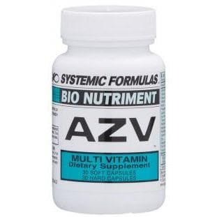 Systemic Formulas: #111 - AZV - MULTI-VITAMIN AND MINERAL