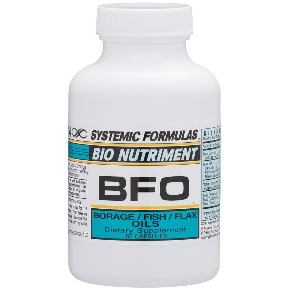 Systemic Formulas: #114 - BFO - BORAGE/FLAX/FISH OILS