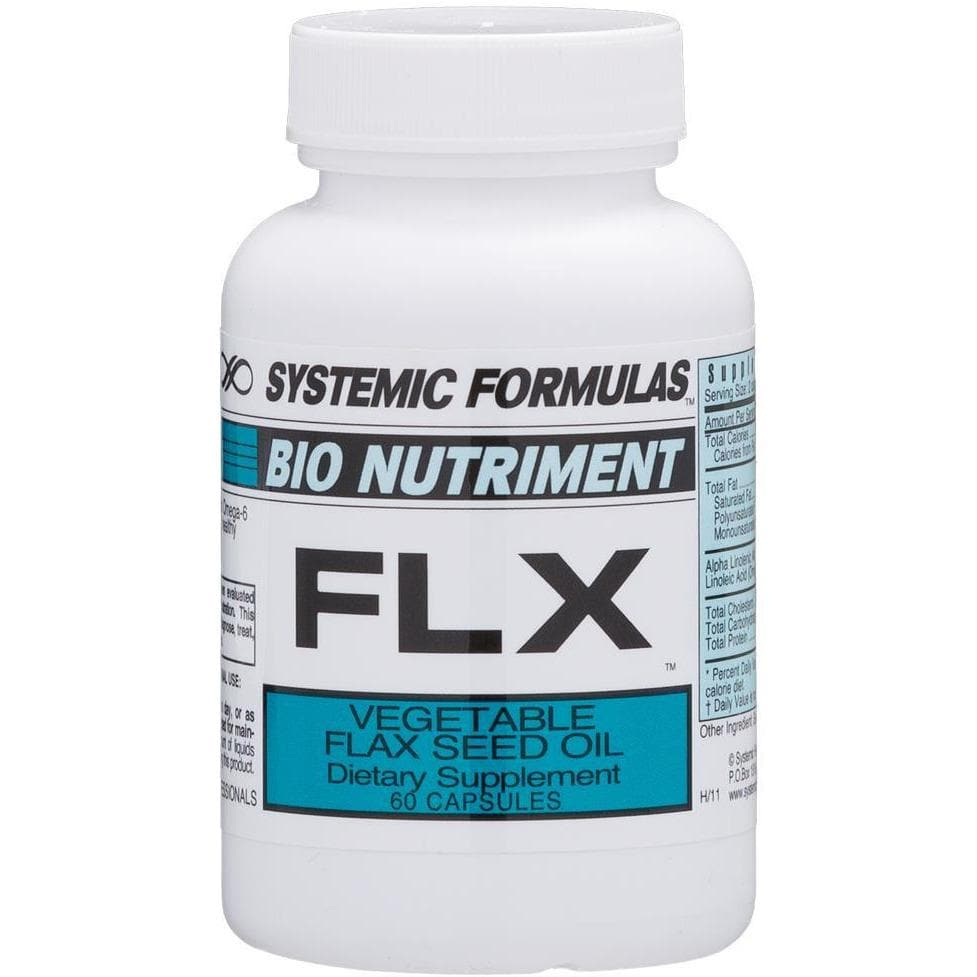Systemic Formulas: #132 - FLX - VEGETABLE FLAX SEED OIL