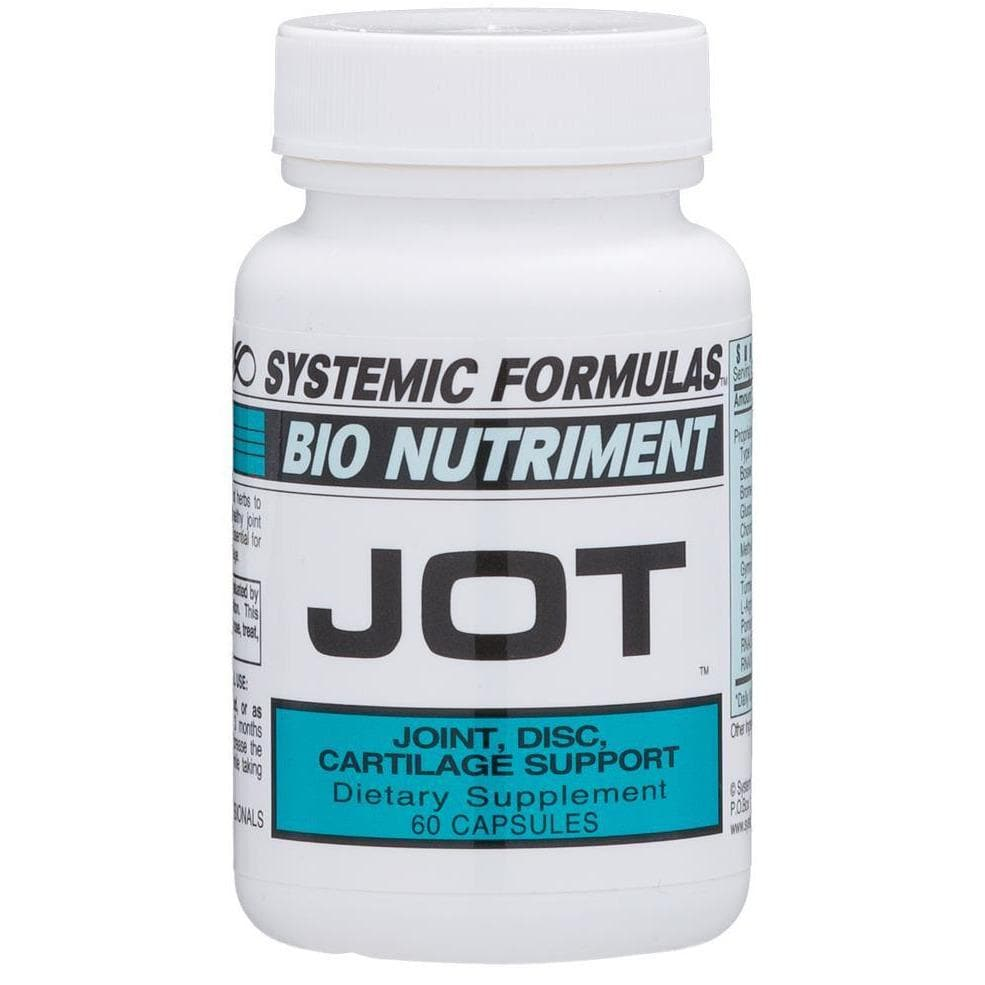 Systemic Formulas: #133 - JOT - JOINT, DISC, CARTILAGE SUPPORT