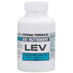 Systemic Formulas: #134 - LEV - LECITHIN
