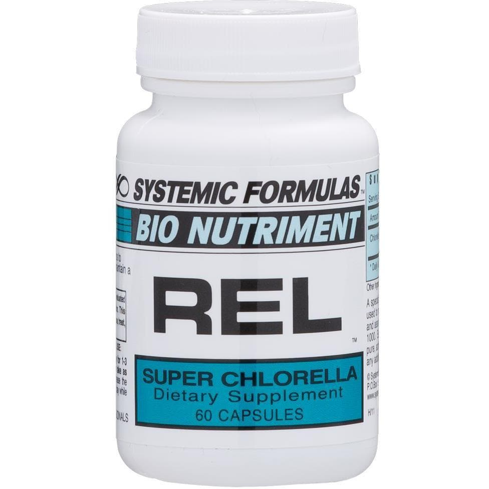 Systemic Formulas: #180 - REL - SUPER CHLORELLA