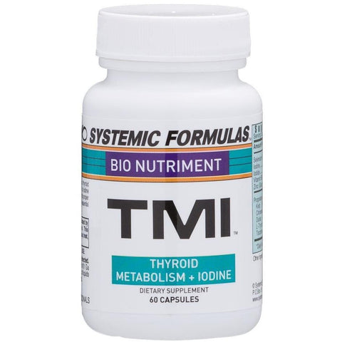 Systemic Formulas: #187 - TMI - THYROID METABOLISM + IODINE