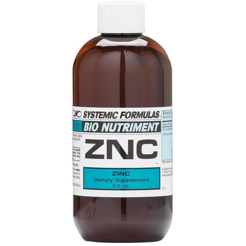 Systemic Formulas: #195 - ZNC - ZINC CHELATE