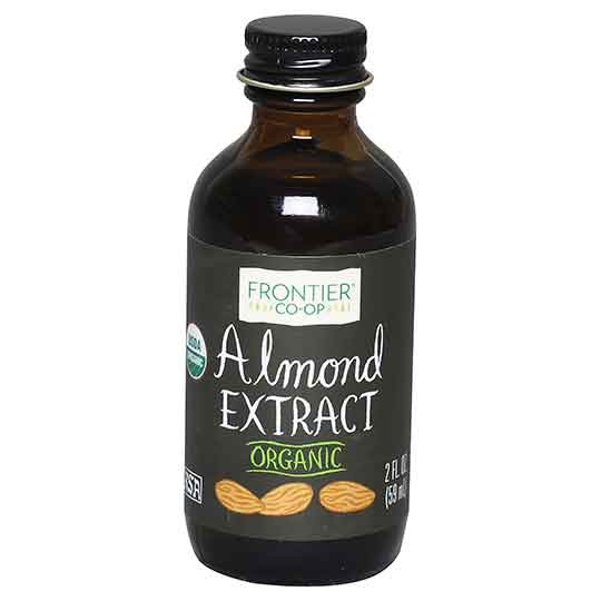 Frontier - Organic Almond Extract 2 oz.