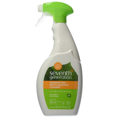 Seventh Generation Lemongrass Citrus Disinfecting Cleaner - 26 fl oz