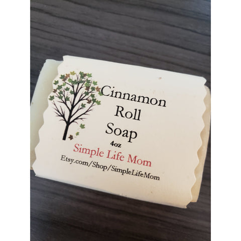Simple Life Mom - Cinnamon Roll Soap 4oz