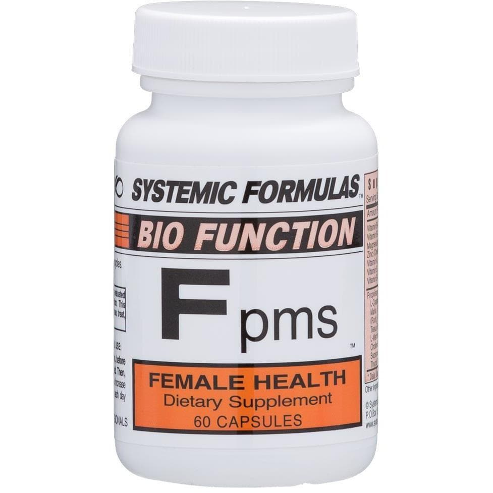 Systemic Formulas: #24 - Fpms - FEMALE HEALTH