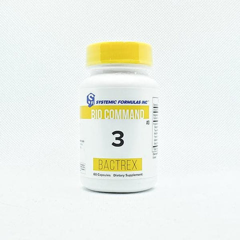 Systemic Formulas: #3 - BACTREX