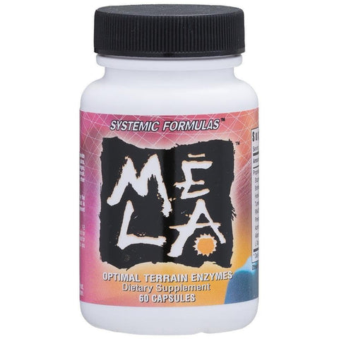 Systemic Formulas: #660 - MELA - OPTIMAL TERRAIN ENZYMES