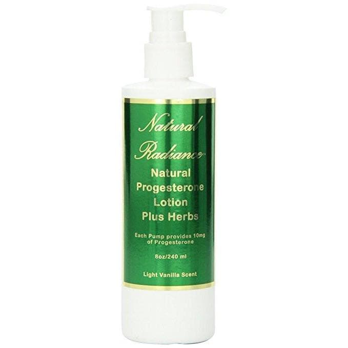 Natural Radiance™ Natural Progesterone Plus Herbs 8oz. pump bottle unscented