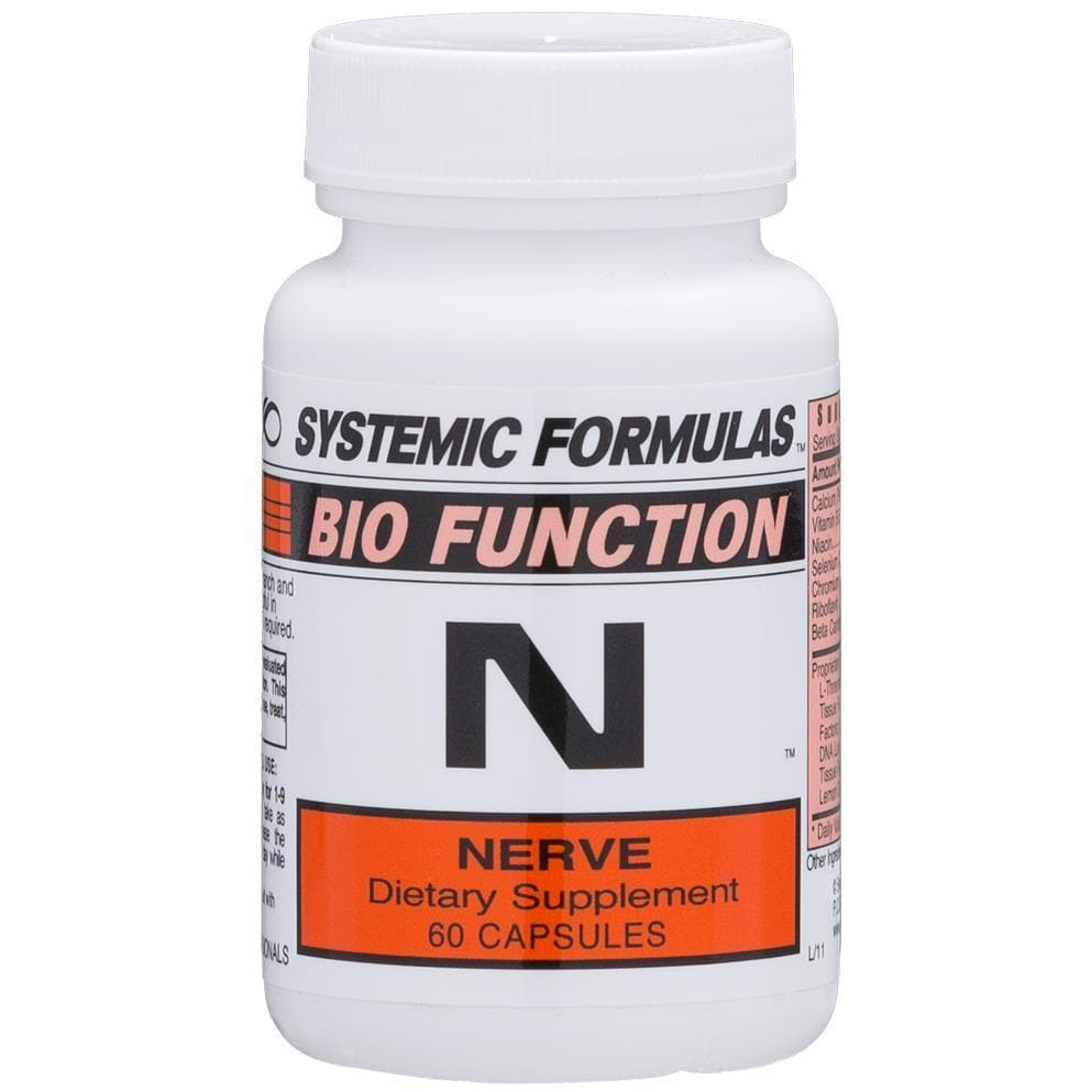 Systemic Formulas: #74 - N - NERVE