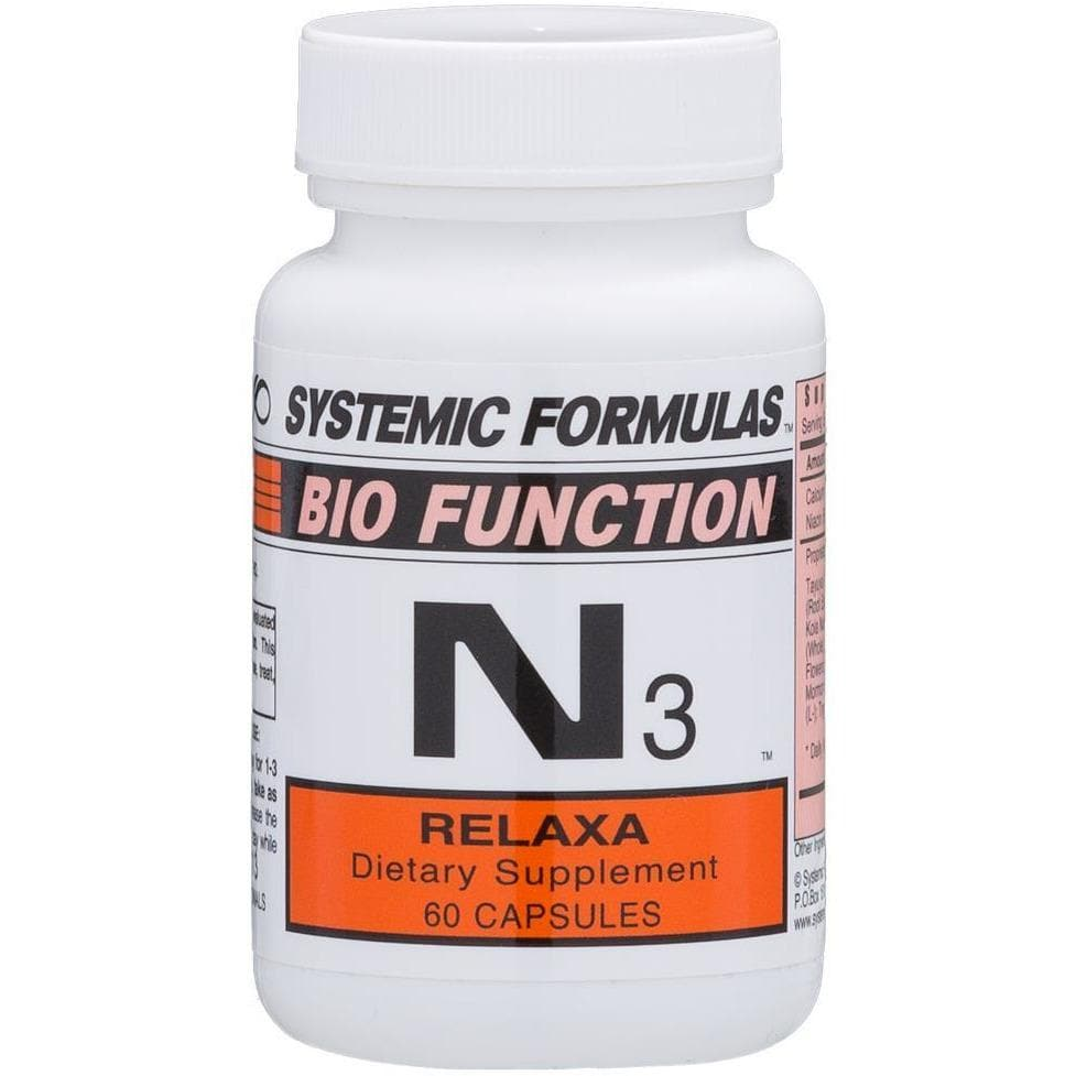 Systemic Formulas: #75 - N3 - RELAXA