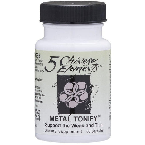 Systemic Formulas: #765 - METAL TONIFY - SUPPORT THE WEAK AND THIN