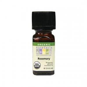 Rosemary Oil Organic - 0.25 oz.