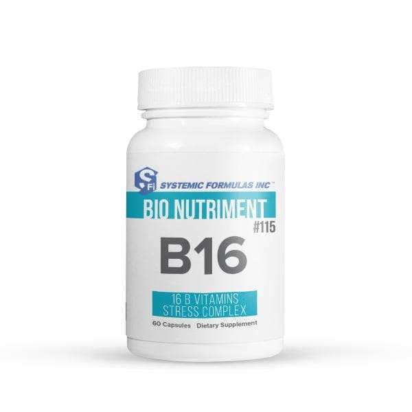 Systemic Formulas: #115 - B16 - BSV - VITAMIN B STRESS COMPLEX