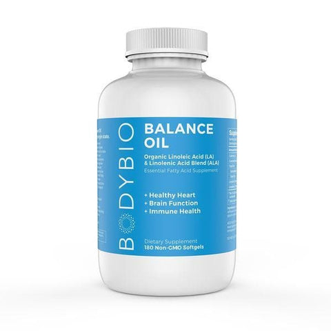 BodyBio Balance Oil Capsules - 180 softgels (1300mg)