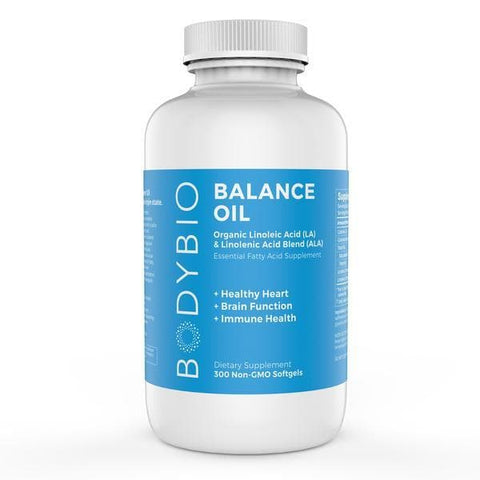 BodyBio Balance Oil Capsules - 300 softgels (1300mg)