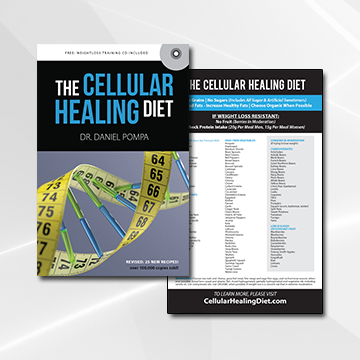 the Cellular Healing Diet Book & Magnet