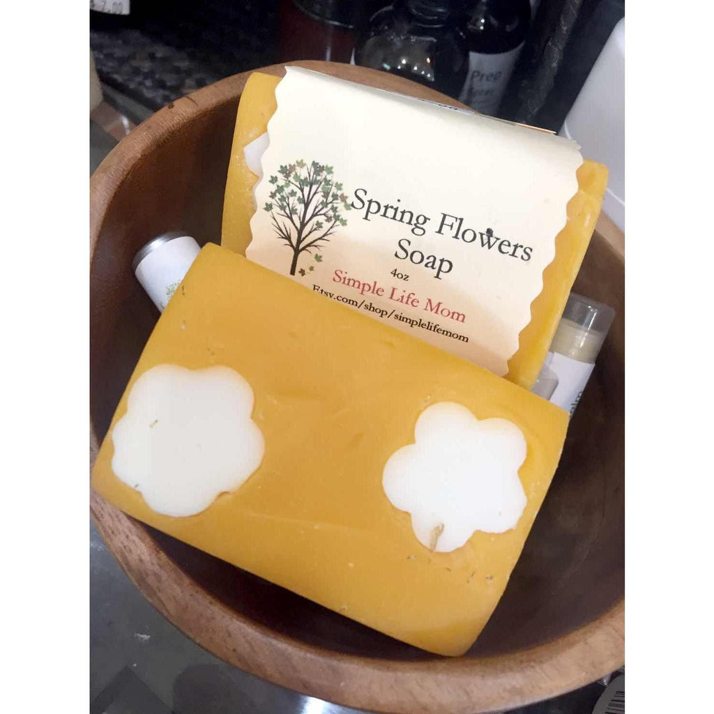 Simple Life Mom - Spring Flowers Bar Soap - 4oz