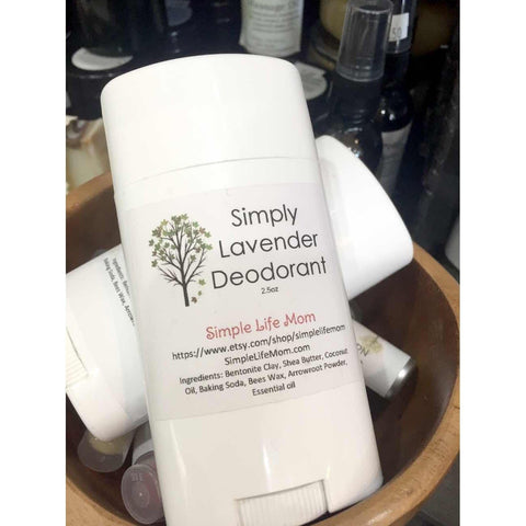 Simple Life Mom - Simply Lavender Deodorant - 2.5 oz