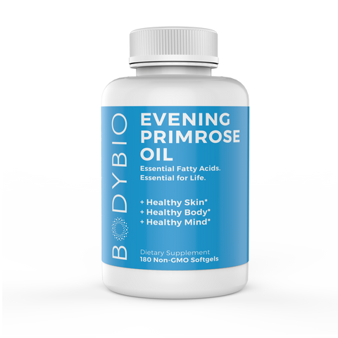 BodyBio - Evening Primrose Oil - 180 softgels (1300mg)