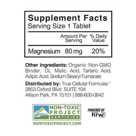 TCF -Fastonic Cellular Molecular Hydrogen Supplement - 60 tablets