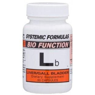 Systemic Formulas: #61 - Lb - LIVER/GALL BLADDER
