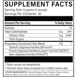 MegaPreBiotic™ - Natural Mango Flavor - 150g powder