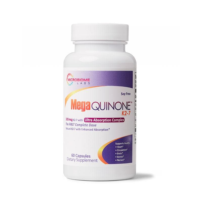 MicroBiome Labs - MegaQuinone K2-7 - 60 capsules
