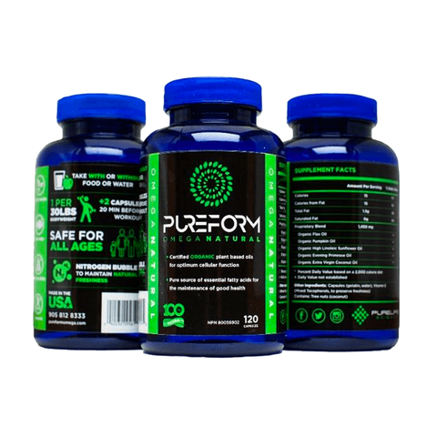 Pure Form Omega Natural - 120 capsules