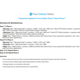 #941 True Cellular Detox: Brain Phase - includes CytoDetox - 30 day supply
