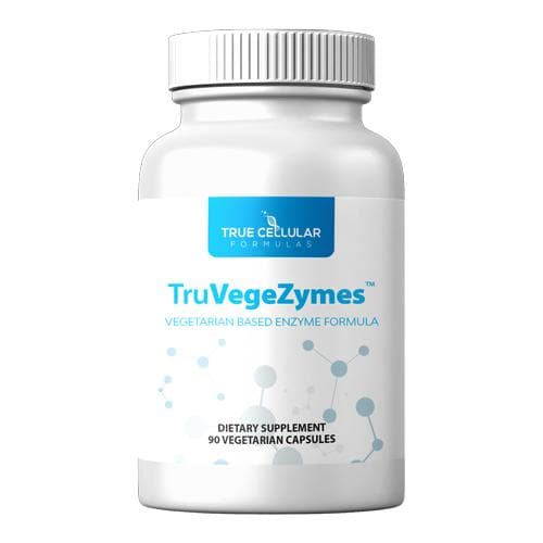 TCF - TruVegeZymes (formerly Plant Enzyme Digestive Formula) - 90 capsules