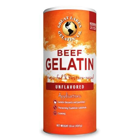 Great Lakes Unflavored Beef Gelatin 16 oz.