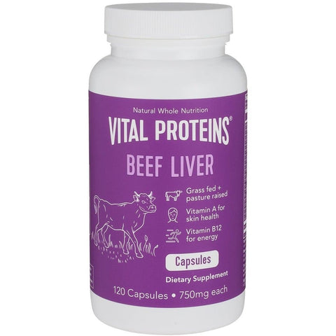 Vital Proteins - Beef Liver 750mg - 120 capsules