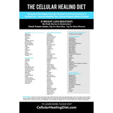 the Cellular Healing Diet Magnet