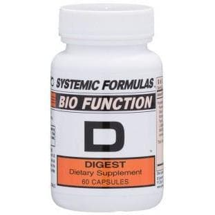 Systemic Formulas: #17 - D - DIGEST