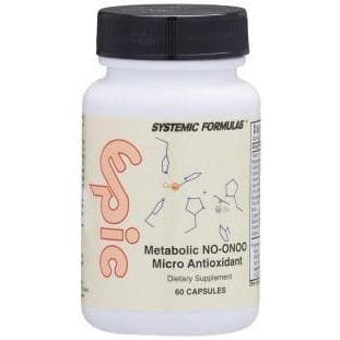 Systemic Formulas: #820 - EPIC - METABOLIC NO/ONOO MICRO ANTIOXIDANT