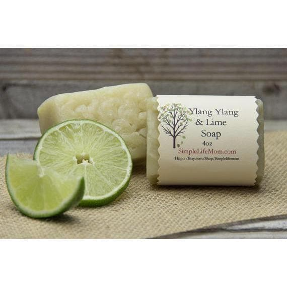 Simple Life Mom - Ylang Ylang & Lime Soap 4oz.