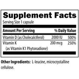 DFH - Vitamin D Synergy 120 vegetarian capsules