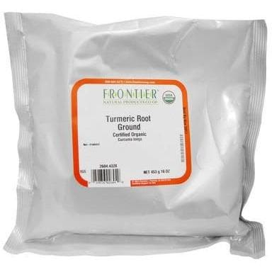 Organic Turmeric Root Powder - 1 lb.