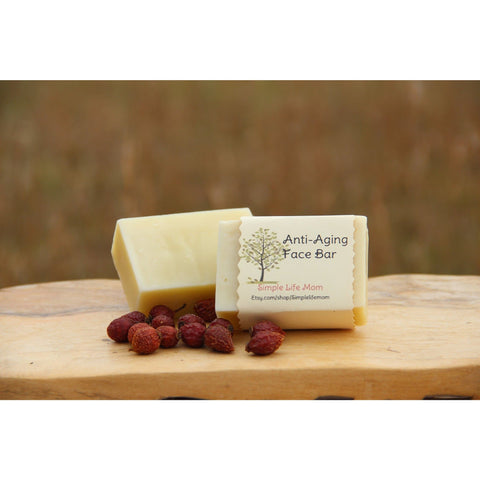 Simple Life Mom - Anti-Aging Face Bar Soap 4oz