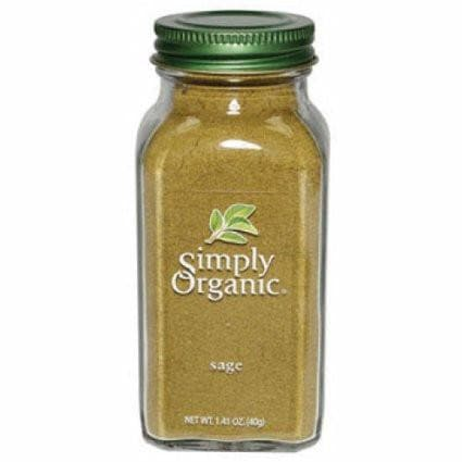 Simply Organic - Ground Sage (Organic) 2.31 oz.