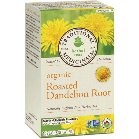 Roasted Dandelion Root Tea - 16 Tea Bags