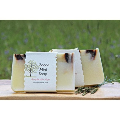 Simple Life Mom - Cocoa Mint Soap 4 oz.